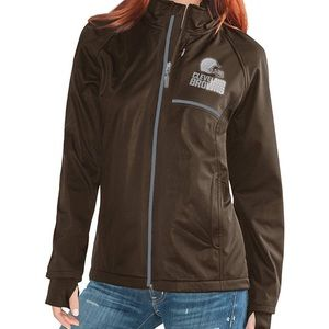 Cleveland Browns NFL Women's Jacket NEW Small